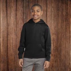 5506 Youth Wicking Fleece Hooded Sweatshirt Thumbnail
